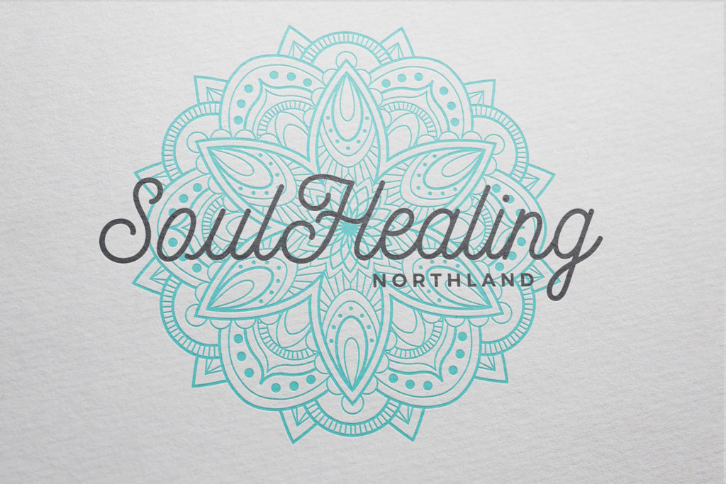 Laura Thompson logo design