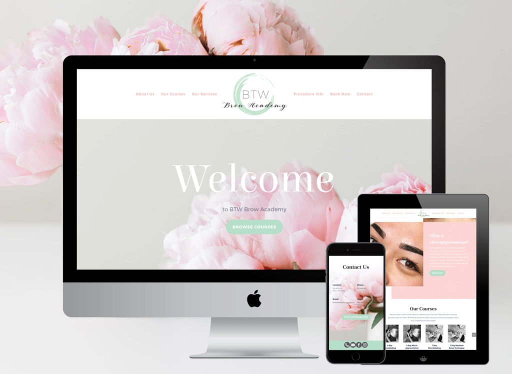 Laura Thompson web design