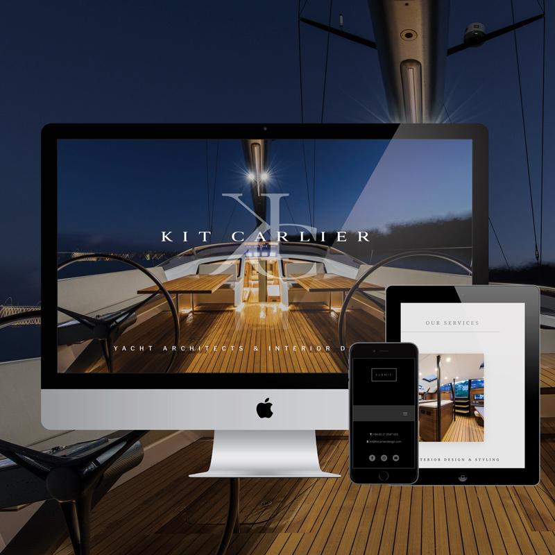 Laura Thompson web design